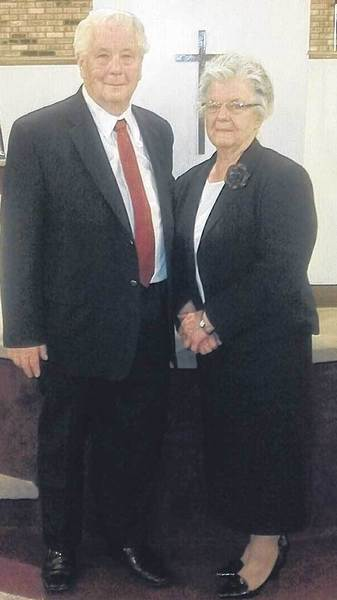 The Rev. Kenneth and Mrs. Betty Mendenhall recently celebrated 60 years in the ministry.
