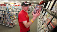 Go to a video rental store