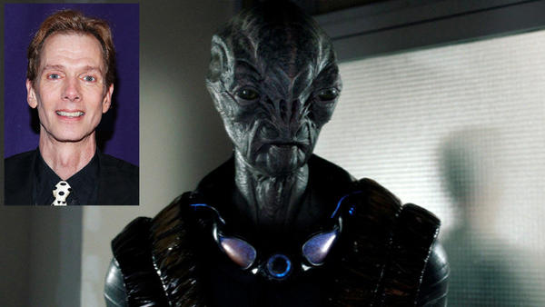 "Doug Jones (inset) stars as the alien Cochise in ""Falling Skies."""