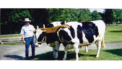 """Oxen as Draft Animals"" presented by Jack and Jean Romesberg will be held at 7 p.m. on Tuesday June 11 in the Kingwood Church of God fellowship hall, Kingwood,"