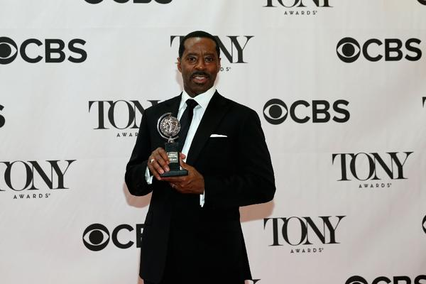"Vance was named best featured actor in a play for his role in ""Lucky Guy."""