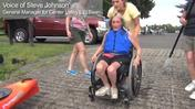 VIDEO: Kayakers leave their wheel chairs behind