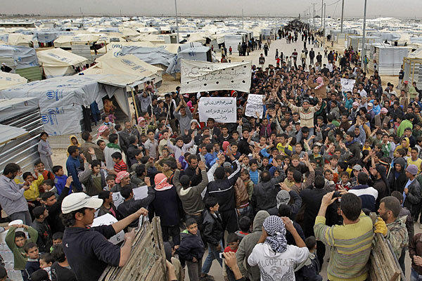 """Arab Spring"" to Produce ~2-Million Syrian Refugees... 600"
