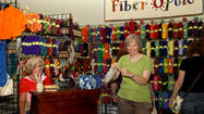 Grayslake, Ill.  – Returning this month to the Lake County Fairgrounds, the Midwest Fiber & Folk Art Fair is the only event in the Chicago area that covers all the fiber arts, from fleece to finished fabric.