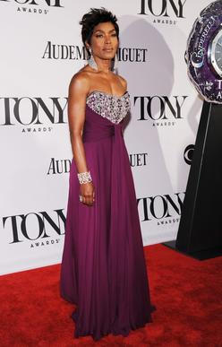 Actress Angela Bassett.