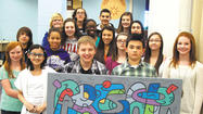 Students from Smithsburg Middle School were inducted into the inaugural Junior Art Honor Society in March.