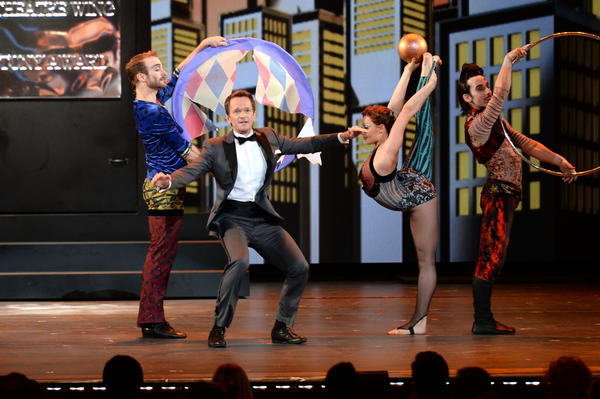 Neil Patrick Harris, who turns 40 June 15, hosts the Tony Awards at Radio City Music Hall Sunday in New York City.