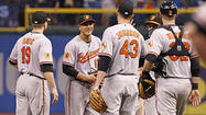 During the weekend's first two games here in Tampa Bay, the Orioles' offense seemingly went vacationing in Florida – not even sending a postcard to acknowledge their absence.
