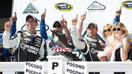 LONG POND, Pa. -- Jimmie Johnson turned in a dominating performance at Pocono Raceway on Sunday, starting on the pole and leading most of the way en route to a victory at the Party in the Poconos 400 NASCAR Sprint Cup series race.
