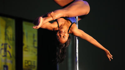 Pole dancer convention comes to town