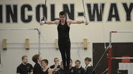 Despite being part of a skilled Lincoln-Way co-op gymnastics team, Brent Schneider was the only gymnast representing the team at the state competition in May. The senior competed in the all-around and made the finals on high bar. He finished eighth in the state with a score of 8.95.
