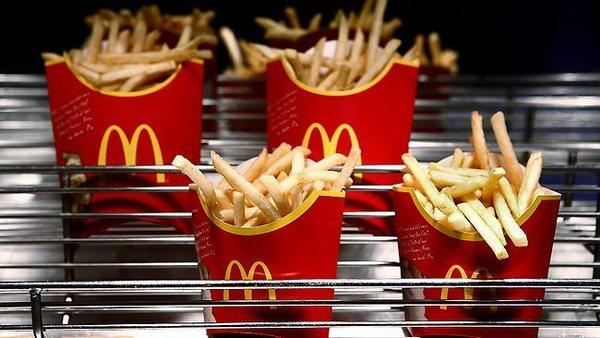 McDonald's reported a same-store sales gain in May, reversing a months-long trend.