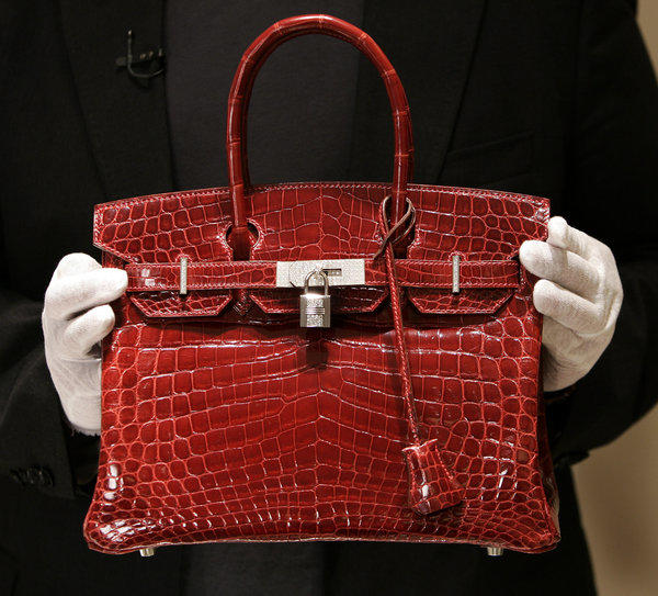 Wealthy consumers will be reining in their spending on discretionary items, such as this Hermes Birkin bag.