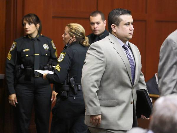 George Zimmerman, 29, right, fatally shot Trayvon Martin, then 17, last year in the Sanford, Fla., gated community where Zimmerman lived and where Martin was visiting his father. Above, Zimmerman at a pretrial hearing.