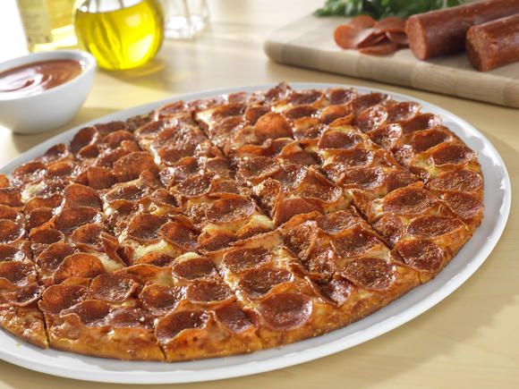 Donatos pizza toppings include pepperoni
