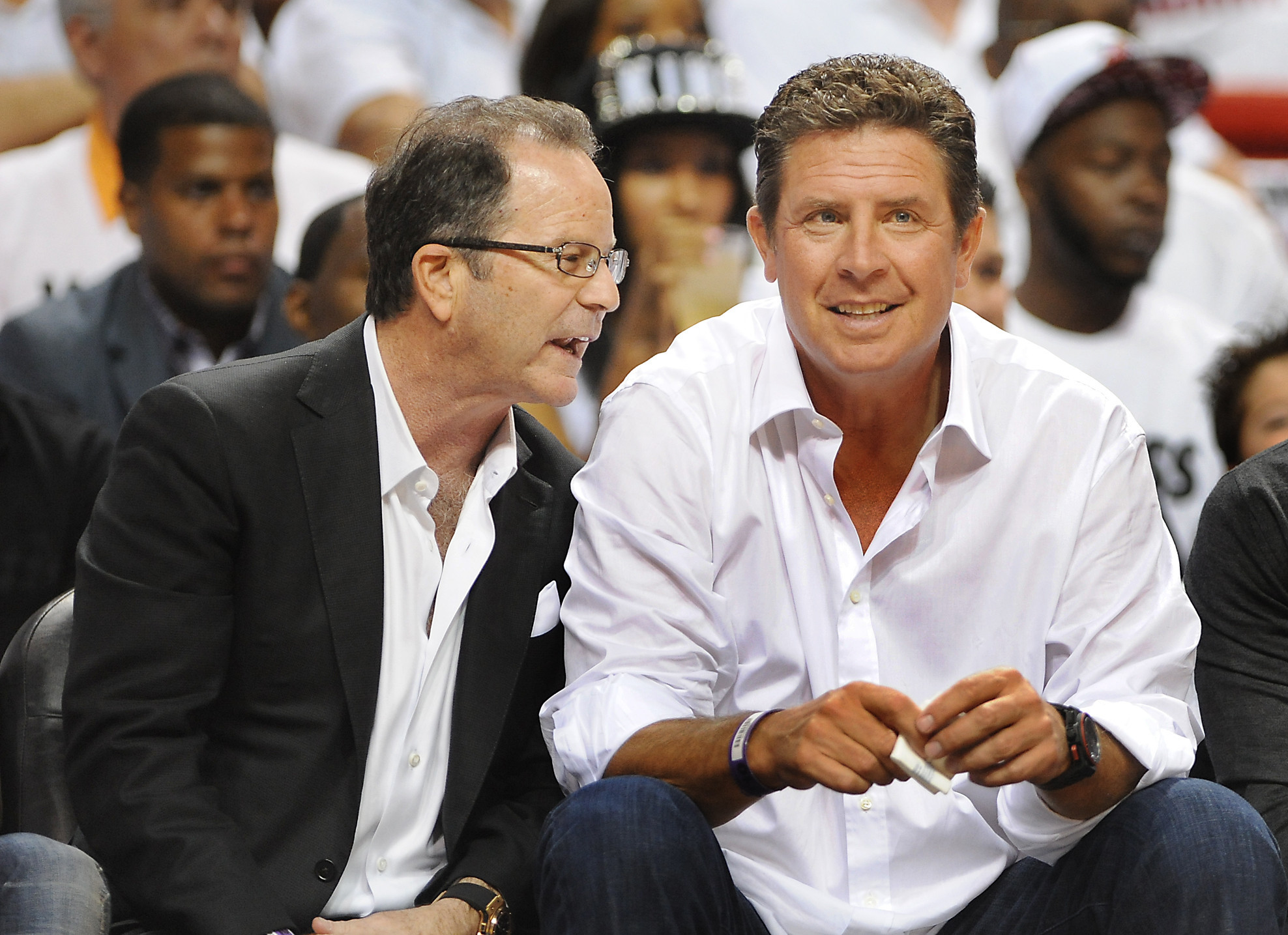 Celebs spotted at Miami Heat games - Dan Marino