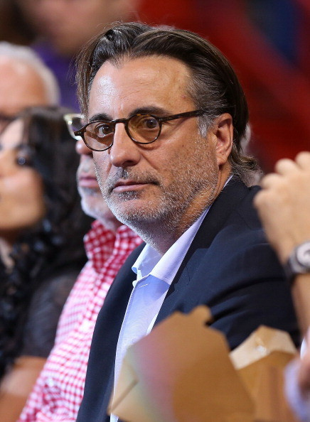 Celebs spotted at Miami Heat games - Andy Garcia