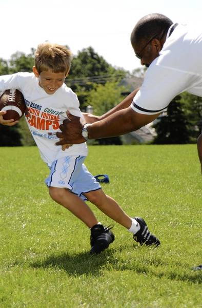 For the ninth year, the Bears youth football camps will get rolling in the suburbs starting next Monday.