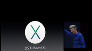 Apple got its annual Worldwide Developers Conference underway Monday in San Francisco with the announcement of a new version of its desktop operating system called Mac OS X Mavericks.