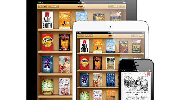 Apple's iBooks as an app on iPad and iPhone.