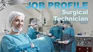 Surgical technologists keep medical procedures moving