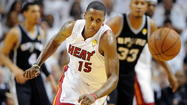 Heat's Mario Chalmers pulling his weight in the postseason