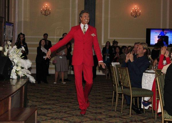 Tommy Tune at the Actors Fund's 17th annual Tony Awards viewing party at the Taglyan Cultural Complex.