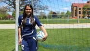 After switching positions last season, Maine East soccer player Samantha Contreras returned to her comfort zone at sweeper. In her final season with the Blue Demons, the senior provided a defensive boost to her team and enjoyed spending time with her teammates.