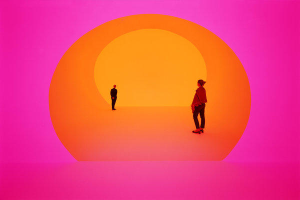 "James Turrell's ""Akhob,"" commissioned by Louis Vuitton, opened on the fourth floor of the luxury brand's Las Vegas City Center boutique on May 2."