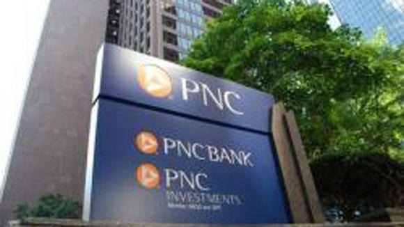 The headquarters of PNC Bank In Pittsburgh.