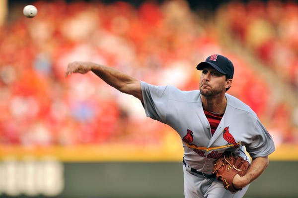 Adam Wainwright has the Cardinals at the top of the standings.