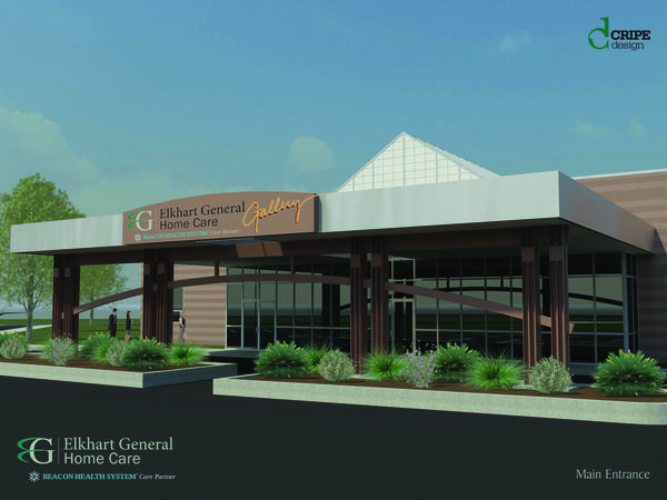 Beacon Health System officials are scheduled to break ground Wednesday on a new Elkhart General Home Care building at the corner of County Road 17 and Verdant Drive in Elkhart.