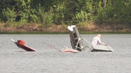 Photos: Man Survives Float Plane Crash at Willow Lake