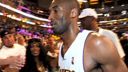 A New Jersey auction house will sell only six items of memorabilia from Kobe Bryant's career as part of a settlement between the Lakers star and his family that included an apology from his mother and father and a percentage of the proceeds from the auction going to charity.