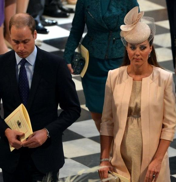 The Duke and Duchess of Cambridge attend a service June 4 at Westminster Abbey in London to celebrate the 60th anniversary of the coronation of Britain's Queen Elizabeth II. The duchess is to christen a new ship on Thursday in Southampton, England.