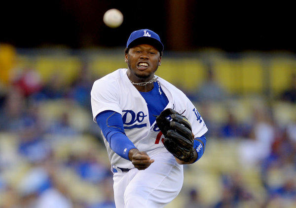 Shortstop Hanley Ramirez has a .350 batting average in nine games with the Dodgers this season.
