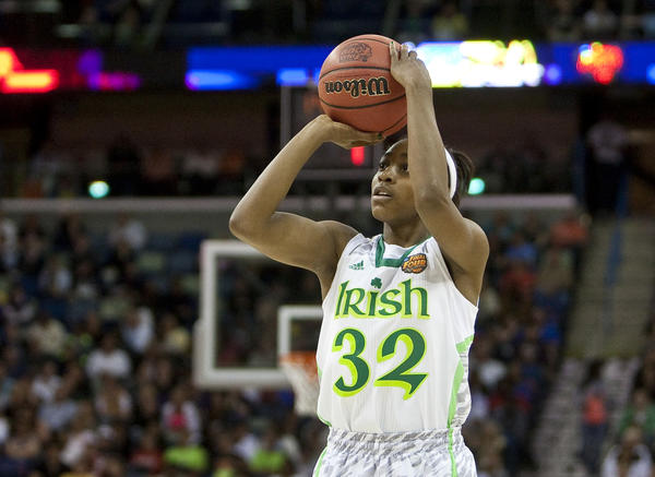 Notre Dame coach Muffet McGraw doesn't foresee Jewell Loyd switching to point guard next season.