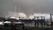 Tornado damages Locust Point warehouse [Video]