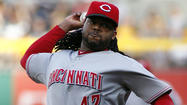 The Cubs' <strong>Matt Garza</strong> takes the mound against the Reds on Tuesday for the first time since calling out Reds pitcher <strong>Johnny Cueto</strong> for allegedly throwing at <strong>David DeJesus</strong> on May 26.
