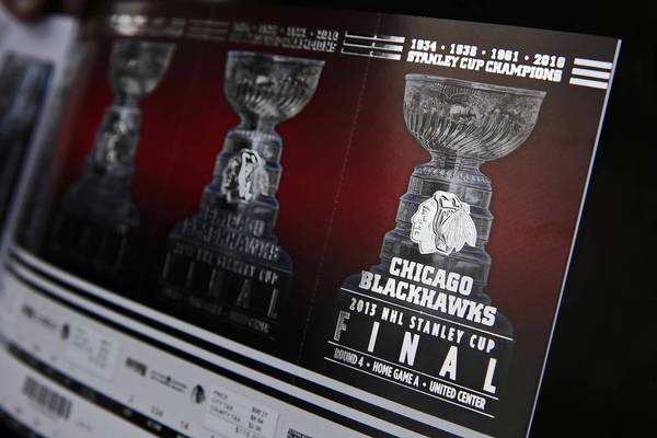 Stanley Cup tickets are drawing sky-high prices in Chicago and Boston.