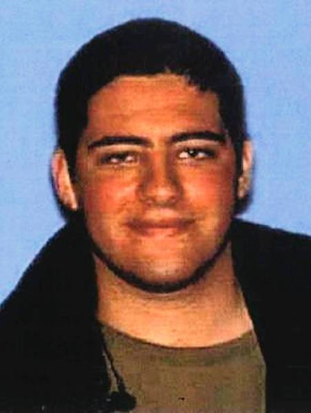 An undated photograph of John Zawahri, 23, whom police identified as the gunman in Friday's deadly shooting rampage that ended at Santa Monica College.