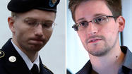 Similarities seen in leaks by Snowden, Manning