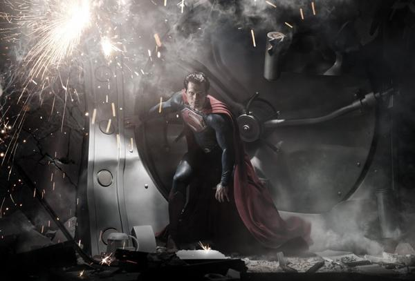 """Warner Bros. is betting on """"Man of Steel"""" to be super at the box office."""