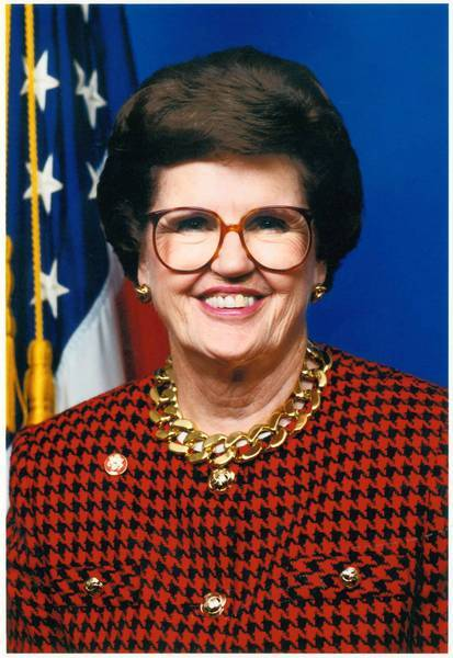 Barbara Vucanovich was the first woman to represent Nevada in Congress. The conservative Republican served in the House from 1983 to 1997.