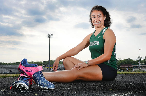 South Hagerstown's Hayley Freeman is The Herald-Mail's 2013 Washington County Girls Outdoor Track & Field Athlete of the Year.
