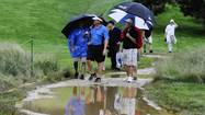 ARDMORE — As his golf course's fairways flooded under 5 inches of rain, and the U.S. Open merchandise tent sold out of umbrellas, Matt Shaffer offered a rare moment of sunshine Monday at Merion Golf Club.