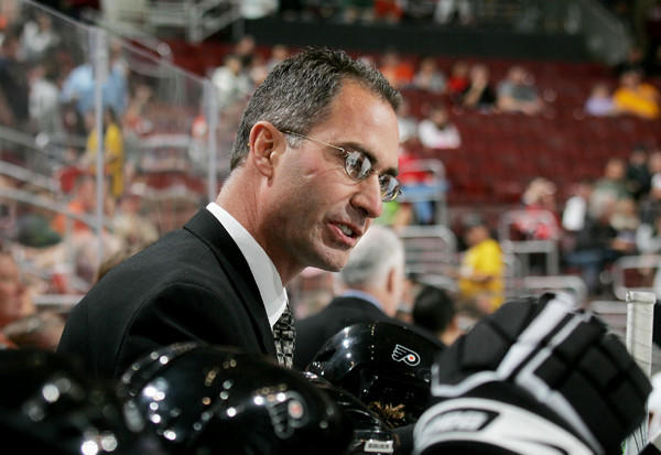 John Stevens was the head coach of the Philadelphia Flyers from 2006-0