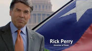 Governors visit businesses in other states all the time, usually in low-key meetings that aren't publicized. But that's not how they roll in Texas, and Gov. Rick Perry is letting everyone know he's on his way to New York and Connecticut next week to raid companies — complete with a $1 million TV ad campaign.