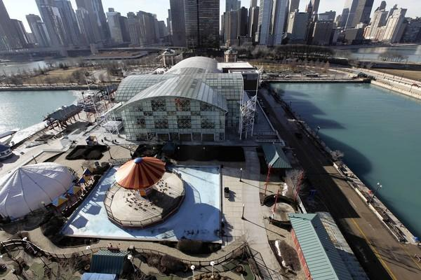 Navy Pier was one of the major destinations for the near-record 46.2 million visitors to Chicago last year.