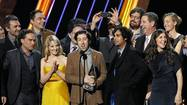 "LOS ANGELES (Reuters) - CBS sitcom ""The Big Bang Theory"" led comedy winners at the Critics Choice television awards on Monday, while AMC series ""Breaking Bad"" and HBO's fantasy epic ""Game of Thrones"" won top prizes for drama, edging out ""Mad Men"" and ""Homeland""."